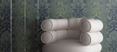 Damask wallpaper can be shabby and chic or regal and elegant! Damask Wallpaper, Shabby, Elegant, Chic, Design, Decor, Classy, Shabby Chic, Decoration