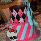 Monster High cake!  How cool is that?!  Custom Specialty Cakes Archives - Page 2 of 22 - Palermo's Bakery
