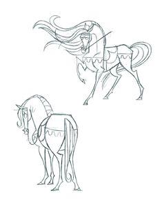 Prince Charming's Horse by fyre-flye.deviantart.com on @deviantART