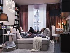 Ikea Katalog 2012   Ideen Für Kleine Wohnungen: Kombiraum Zum Wohnen Und  Arbeiten