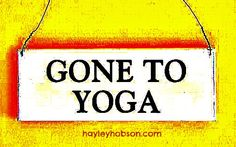 gone to #yoga