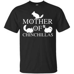 Beware Crazy Chinchilla Lady Regular Tote Bag Funny Animal Shoulder