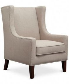 Best Seller Madison Park Barton Modern Accent Chair olid Wood, Plywood, Wing Back Lounge Armchair, See Below Below, Linen online - Annetrendyfashion Wingback Armchair, Upholstered Swivel Chairs, Accent Furniture, Living Room Furniture, Chairs Online, Wing Chair, Cool Chairs, Modern Chairs, Accent Chairs