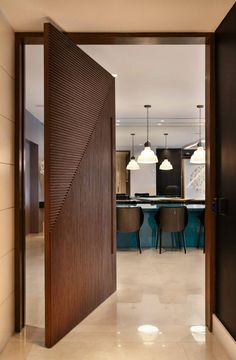 "Apartamento Mônaco / Artis Design + #hall #entry #entrance #door #dining ❥""Hobby&Decor"" 