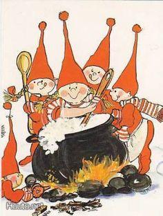 Christmas Tale, Christmas Cards, Xmas, Baumgarten, Christmas Cartoons, Christmas Illustration, Scandinavian Christmas, Whimsical Art, Finland