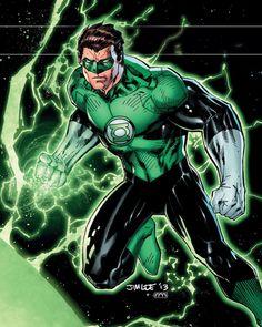 New 52 Green Lantern - Jim Lee