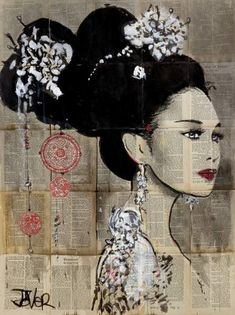"Saatchi Art Artist LOUI JOVER; Drawing, ""yu"" #art"