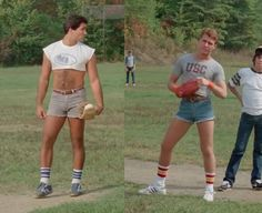What happened to those shorty shorts? Mini Shorts, Mens Crop Top, 80s Fashion Men, Half Shirts, Preppy Men, Boys Underwear, Hot Hunks, Sexy Jeans, Hairy Men