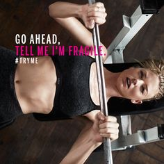 Our maximum support sport bras are raising the bar. Put them to the test, and if you're not absolutely in love with them, we'll take them back. #TryMe   The Ultimate by Victoria's Secret Sport Bra