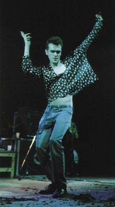 Morrissey: The Smiths live at the Eldorado Theatre, Paris, France on May Brian Molko, Rock Roll, The Smiths Morrissey, Johnny Marr, Nostalgia, Charming Man, Old Music, Aesthetic People, Post Punk