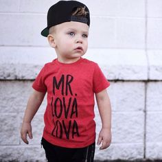 herr-lova-lova-hipster-kids-tee-trendy-baby-t-shirts-stilvolle-kleidung-fur-kinder/ - The world's most private search engine Baby T Shirts, Fall Shirts, Boys Shirts, Baby Boy Fashion, Fashion Kids, Fashion Clothes, Dress Clothes, Cheap Fashion, Fashion Wear