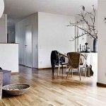 Nordic Interior Design with wooden floor