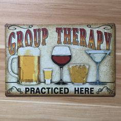 wine and drinking vintage home decor beer metal Tin signs malt decorative plaques for bar wall art craft Paint Bar, Vintage Metal Signs, Vintage Wine, Retro Vintage, Man Cave Bar, Man Cave Signs, Beer Signs, Funny Bar Signs, Pub Signs