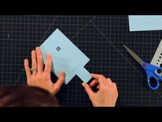 Learn how to make a pull tab for a pop-up card in the first video of a Howcast series with expert Jessica Tice-Gilbert. Card Making Tutorials, Making Ideas, Cuento Pop Up, Waterfall Cards, Origami, Paper Pop, Slider Cards, Paper Engineering, Interactive Cards