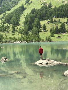 Swiss Alps, Wallis, Switzerland, River, Photos, Photography, Outdoor, Outdoors, Pictures