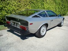 Maserati Khamsin for US - 1975