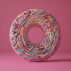 First model in Houdini. #houdini #procedural #organic #form #tours #shape #lines #cgi #3d #abstract #render #c4d #cinema4d #adobe #photoshop #octane #octanerenderer #instartist #illustration #graphicdesign #design #digitalart #inspiration #digital #artist #pink