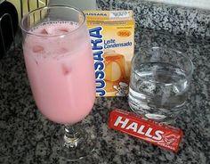 Drink refrescante e prático. Basta tacar num liquidificador uma garrafa de vodca, 4 pacotinhos de Halls, uma lata de leite condensado e bastante gelo. Você pode substituir o leite condensado por açúcar (deixa a bebida menos enjoativa).