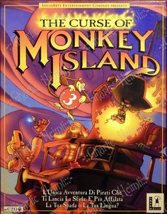 The Curse of Monkey Island © LucasArts (1997)
