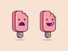 ice-creams by Nick Kumbari for Leavingstone