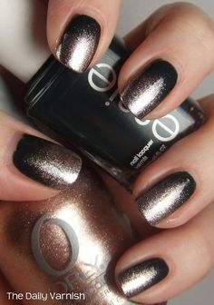 Dark nails also is the most part of you.We prepared 50 Most Sexy Dark Nails Design You Should Try in Fall and Winter Trendy Nails, Cute Nails, My Nails, Dark Nail Designs, Nail Art Designs, Nails Design, Winter Nail Art, Winter Nails, Summer Nails
