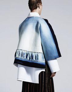 Ximon-Lee- Denim Design Talent #styling #denim