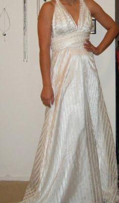 One-Dollar Wonders: DIY: Infinity Wedding Dress - Save Yourself Money AND Pain