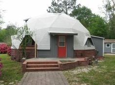One-of-a-kind DOME HOME for rent! In North Pensacola on Finley Drive- Rent is $795 ready in April~