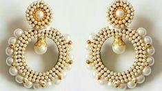 Simple and Easy Quilling Chandbali earrings|how to make chandbali earrings|