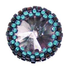 Learn This!!! Peyote Stitch Bezel | Beading Techniques | Fusion Beads