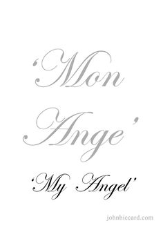 ♔ 'my angel' Italian Quote Tattoos, Italian Love Quotes, French Love Quotes, Spanish Quotes, French Sayings, One Word Quotes, Book Quotes, Change Quotes, Quotes Quotes
