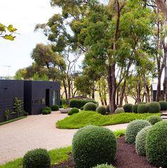 Garden House in Flinders on the Mornington Peninsula in Victoria, Australia #thecoolhunter Garden designed by Ben Scott.