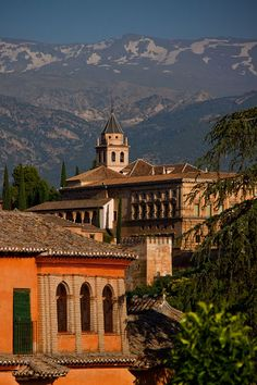 Granada: La Alhambra is a castle heavily influenced by the Moors has they had invaded Spain