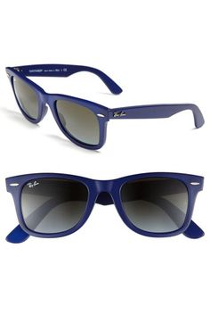 love the colour for these. Ray-Ban 'Classic Wayfarer' 50mm Sunglasses | Nordstrom