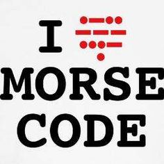 """The heart part actually says, """"LOVE"""" in Morse code.  Please check out our FB Ham Page & Like        https://www.facebook.com/pages/Ham-Radio-Custom-Hats-Shirts/251518001652186"""