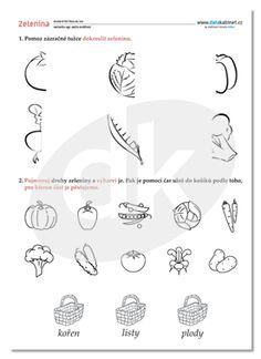 Zelenina — datakabinet.cz Word Search, Bullet Journal, Map, Words, Location Map, Maps, Horse