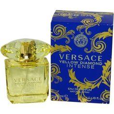 Versace Yellow Diamond Intense By Gianni Versace Eau De Parfum Spray 1 Oz