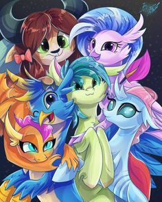 Students of friendship by AlexBlueBird on DeviantArt My Little Pony Comic, My Little Pony Drawing, My Little Pony Pictures, Rainbow Dash, Fluttershy, My Little Pony Wallpaper, Little Poni, Dc Anime, Mlp Fan Art