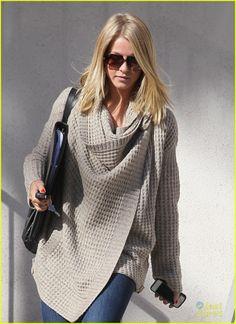 Julianne Hough Inhabit sweater, InStyle Sept 2012 - p. 224