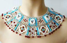 Image result for beaded gemstone jewellery designs
