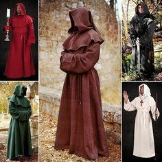 Monks Robe & Hood costume (duke +)