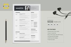 Professional Resume --- Modern, Clean and Minimal Resume with strong typographic structure is very easy to use and customize. This CV is very well organized and Resume Skills, Resume Tips, Resume Cv, Resume Writing, Resume Design, Resume Examples, Cv Template, Print Templates, Resume Templates