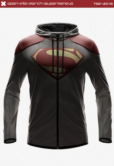 Superman EVO Hoodie by seventhirtytwo on deviantART