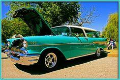 '57 Nomad @ the Forest Park Auto Show, St. Louis MO. April 8, 2012