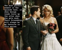 Grey's Anatomy Confessions i miss 007 and dr. Izzie Greys Anatomy, Greys Anatomy George, Grays Anatomy Tv, Grey Anatomy Quotes, Izzie Stevens, Grey's Anatomy Tv Show, Greys Anatomy Characters, Grey Stuff, Dance It Out