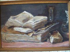 Bible - Anonyme XVIIeme 1992 Tableau peinture huile