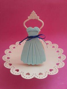 Galleta Fondant #vestido
