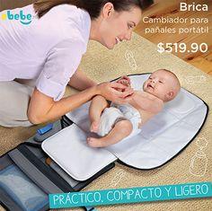 Cambiador portátil para llevar a donde sea #bebe pañal Entregas a toda la república mexicana