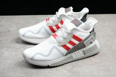 1994c38b3a03 Adidas Originals EQT Cushion Adv EQT White Red Original Shoe