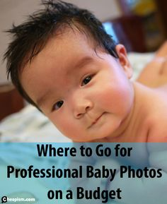 How to choose a studio and pay less for baby photos